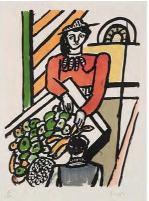 , 'La Marchande des quatre saisons,' 1959, Zuleika Gallery