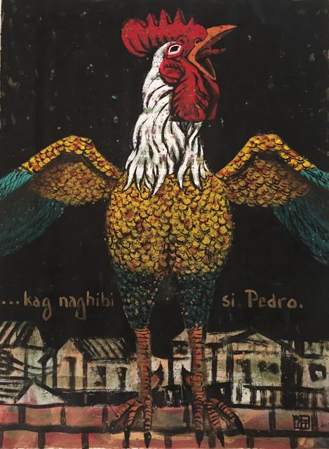 , 'Kag Naghibi si Pedro,' 2017, 856G