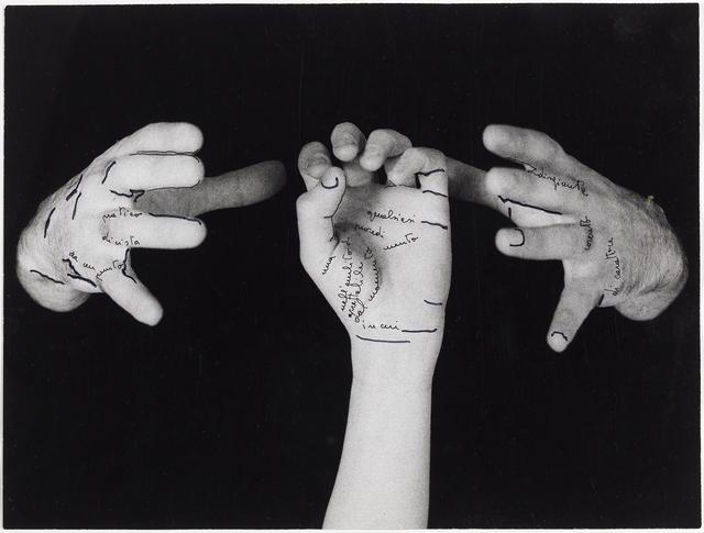 , 'Le mie parole (My Words),' 1973, Kadel Willborn