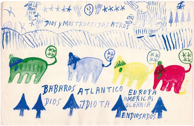 , 'untitled,' 1969, Christian Berst Art Brut