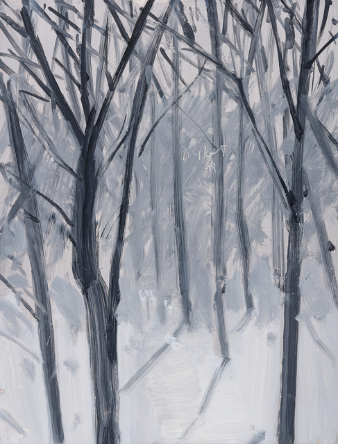 Alex Katz, 'Study for Snow', 1993, Hindman