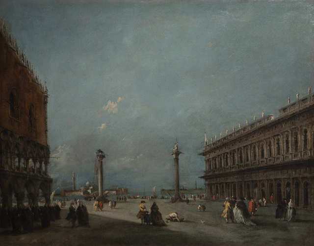 , 'A View of the Piazzetta looking towards the Bacino & S. Giorgio Island,' , Robilant + Voena