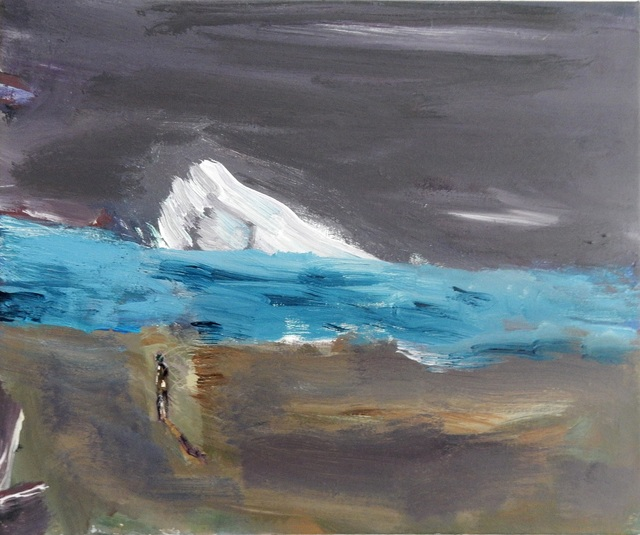 , 'Icebergs or Flood,' 2017, Meno niša Gallery