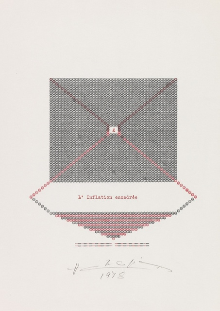 , 'L'inflation Encadrée,' 1978, Richard Saltoun