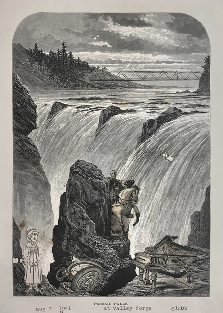 , 'Passaic Falls at Valley Forge,' 1941, Luis De Jesus Los Angeles