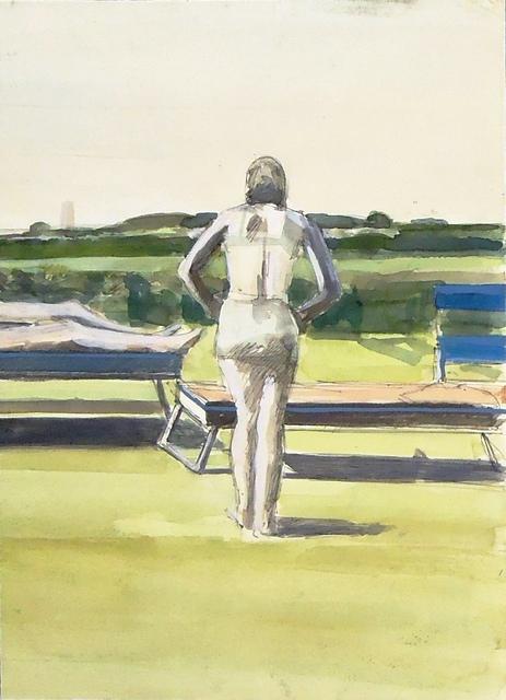 , 'Figure at the Shore,' ca. 1972, Cerulean Arts