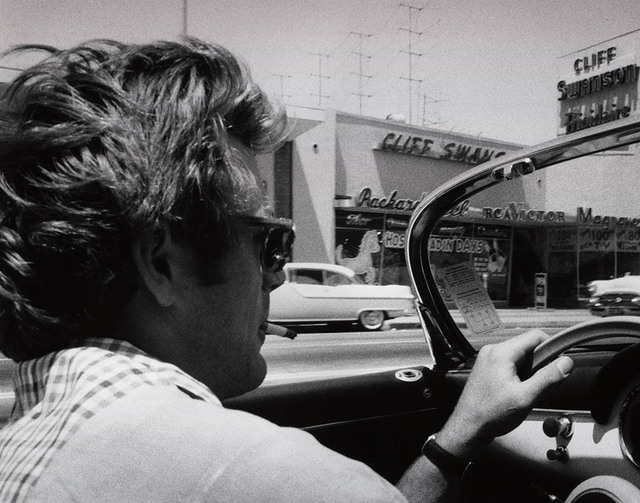 , 'James Dean, Porsche 356, Los Angeles,' ca. 1955, Classic Stills