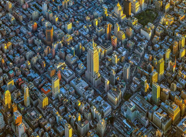 , 'NYC Horizon Empire State Building - NY Aerials,' 2019, ARTITLEDcontemporary