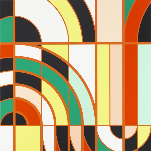 Sarah Morris, 'Burle Marx [Rio],' , White Cube