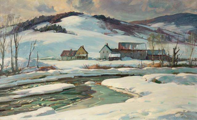Aldro Thompson Hibbard, 'Vermont Homestead', 20th Century, Vose Galleries