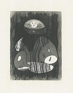 ", 'untitled - ""Maternité"",' 1950, Galerie Boisseree"
