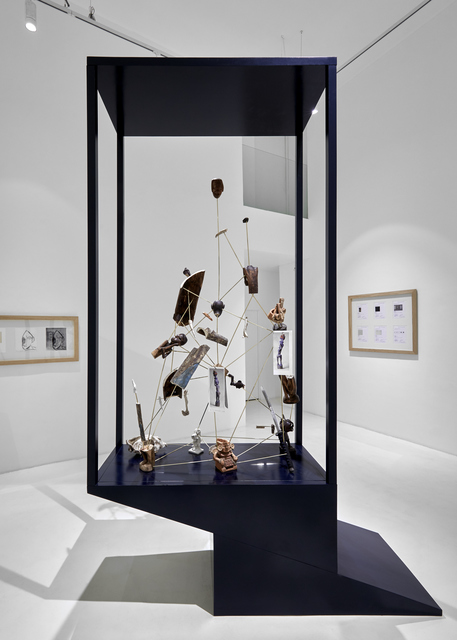 , 'Vitrina III; V-gang - Piltdown Man,' 2018, Galería Hilario Galguera