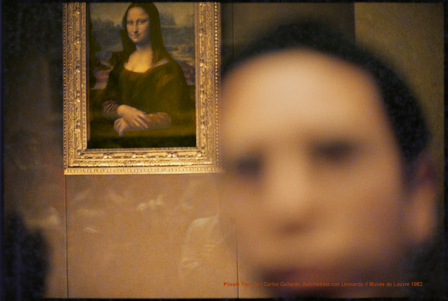 , 'Pixel Terror, Autorretrato con Mona Liza,' 1982, Isabel Croxatto Galería