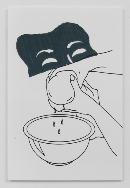 , 'Portrait Series I: Drama Runny Cheese Cloth Nose into a Bowl Mouth,' 2015, Roberts Projects