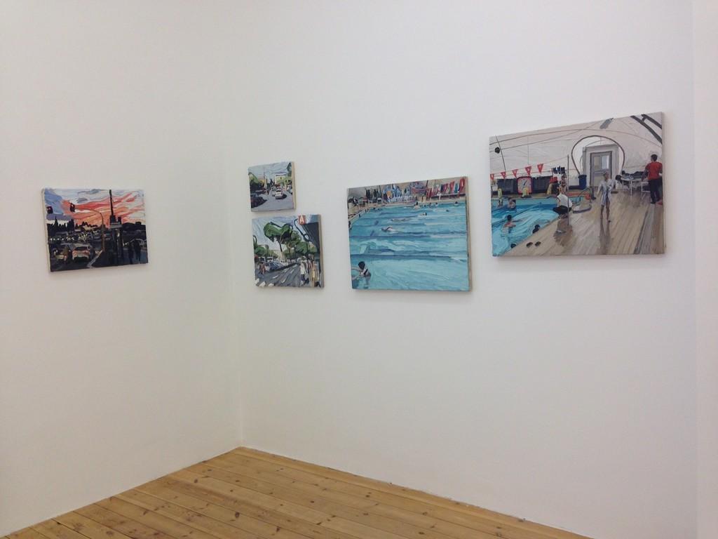 Installation view, Luca Padroni