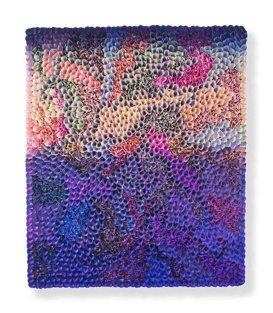 , 'Flower Bed Masterpiece Purple to Blue (Click to see the colors of the Left/ Front / Right sides)     ,' 2018, Nil Gallery