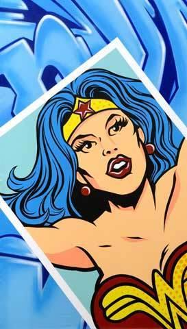 , 'Wonder Woman snapshot,' 2014, Eternity Gallery