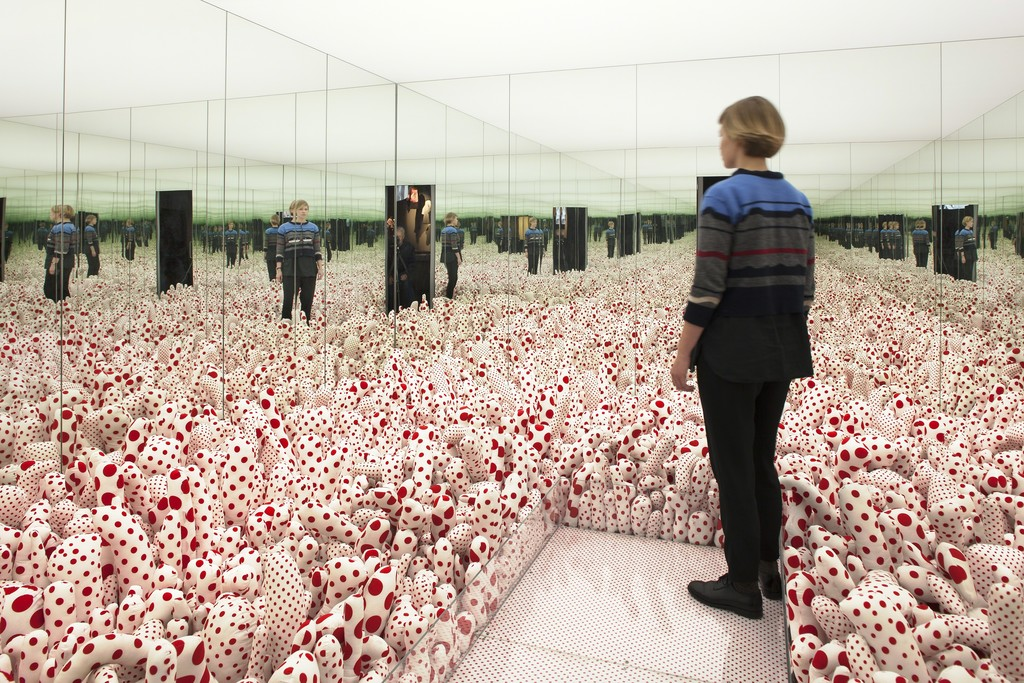 Installation view of YAYOI KUSAMA (2015). Louisiana Museum of Modern Art. Photo by Poul Buchard.