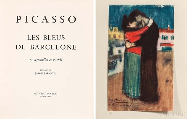 Pablo Picasso, 'Eleven Plates from Les bleus de Barcelone', 1963, Skinner