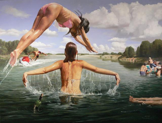 , 'Cool Water,' 2016, GALERIE BENJAMIN ECK