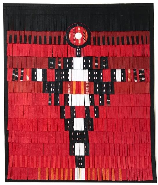 , 'Personnage en noir - blanc (fond rouge),' , Primo Marella Gallery
