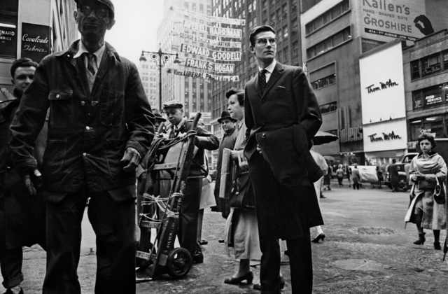 , 'Yves Saint-Laurent on 7th Ave, New York, 1958,' , KP Projects