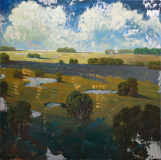 , 'Distant Field Ponds,' , ÆRENA Galleries and Gardens