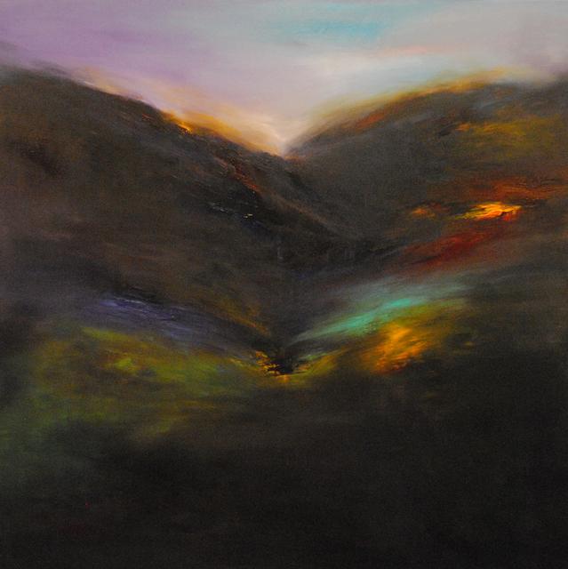 MD Tokon, 'Myth, Mountain & Sky 3', 2014, Painting, Acrylic on Canvas, Isabella Garrucho Fine Art