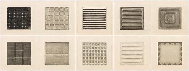 , 'Folio - A, I-X,' 2008, Pace Prints
