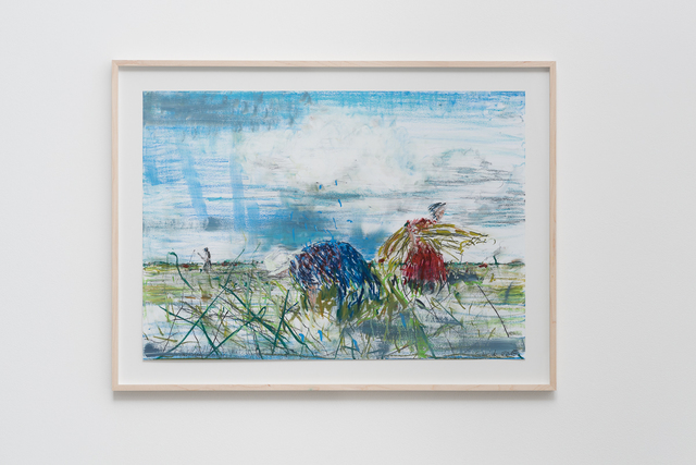 , 'Auf dem Feld I (On The Field I),' 2015, Pilar Corrias Gallery