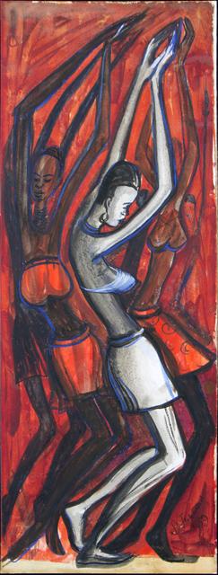 , 'Africa Dances,' 1959, TAFETA