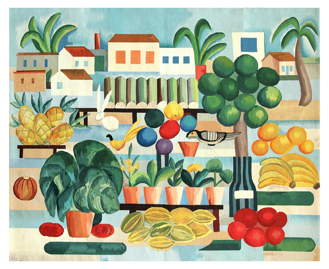 , 'Tapestry Tarsila do Amaral - A Feira ,' 2016, By Kamy