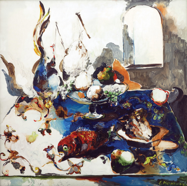 "Emil Kazaz, '""Immotus Anima"" / ""Hareketsiz Ruh""', 2002, Galeri 77"