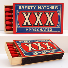 XXX Safety Matches (SDAY 0247)