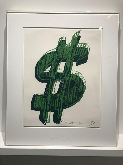Andy Warhol, '$ (1) ', 1982, Kings Wood Art