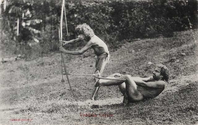, 'Veddahs. Ceylon.,' , Swaraj Art Archive