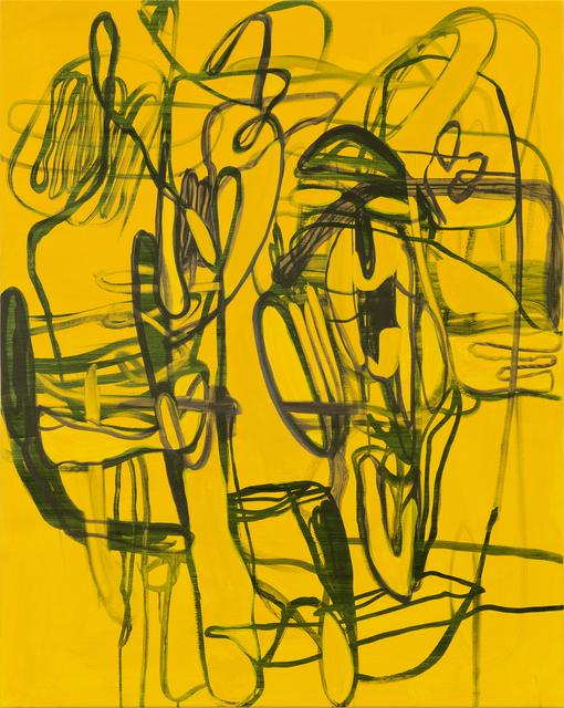 Jana Schröder, 'Kadlites NRS 3', 2020, Painting, Acrylic, graphite, lead and oil on canvas, Natalia Hug Gallery