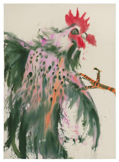 , 'Green rooster,' 2017, DITTRICH & SCHLECHTRIEM