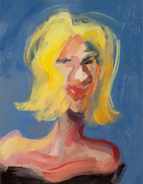 Marshall Crossman, 'Class Photo Study #11', 2013, Painting, Oil on canvas, Julie Nester Gallery