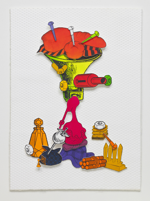 Teppei Kaneuji, 'Games, Dance and the Constructions (Color thick paper) #8', 2014, STPI
