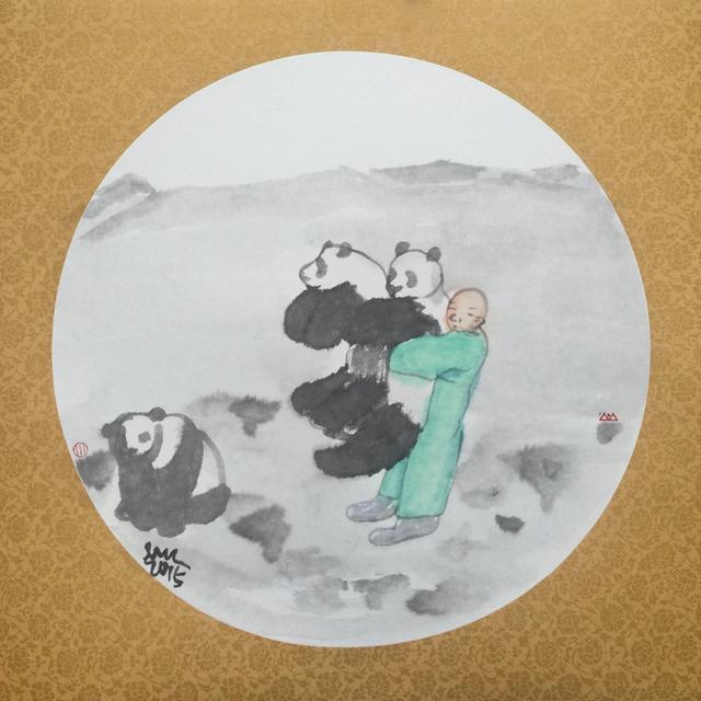 , 'Panda Babe,' 2015, Mobilia Gallery