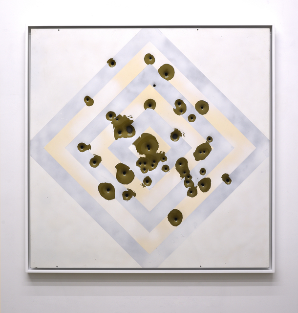 ", '""White Target"",' 2018, Mugello Gallery"