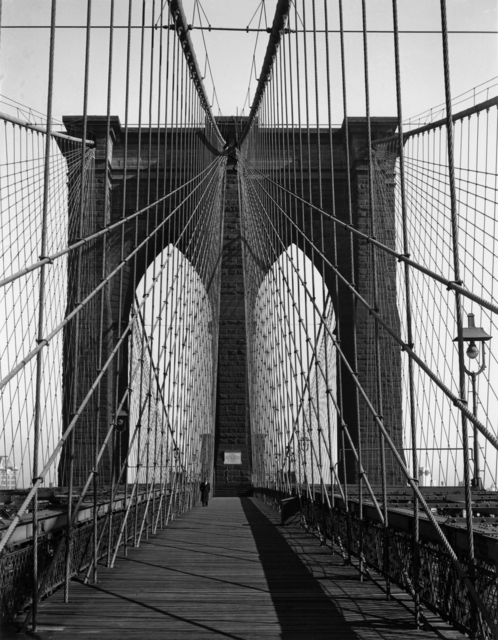 Todd Webb, 'Brooklyn Bridge, New York', 1946, Etherton Gallery