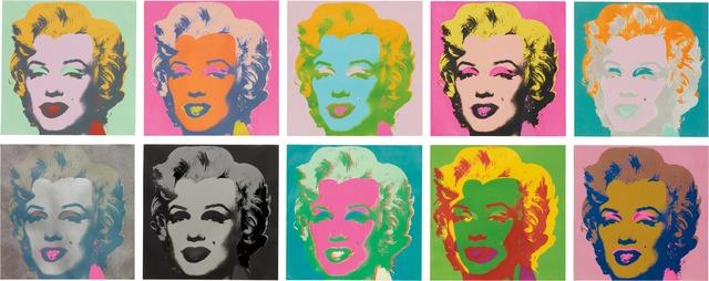 Andy Warhol, 'Marilyn Monroe (Marilyn) (F&S II. 22-31)', 1967, Joseph K. Levene Fine Art, Ltd.