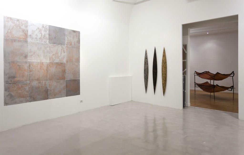 Installation view: Federico Guerri, Remo Suprani, Mattia Vernocchi