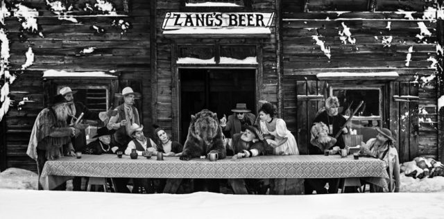 David Yarrow, 'The last supper', 2018, Photography, Archival Pigment Print, Fineart Oslo