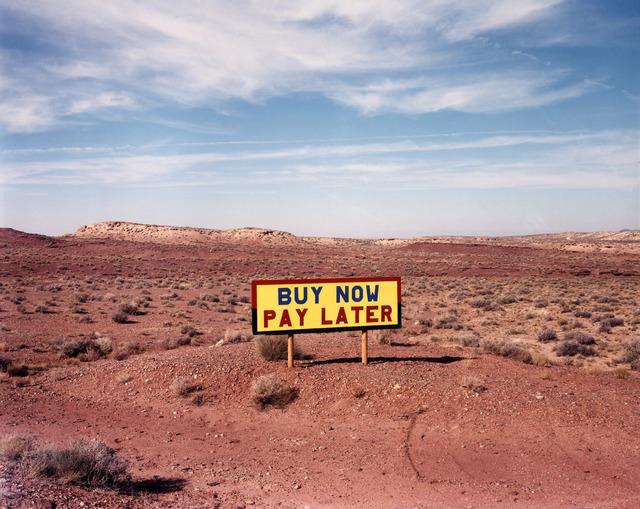 David Graham, 'Route 64, West of Route 89, AZ', 1986, Etherton Gallery