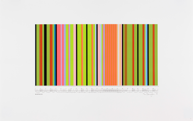 "Tim Bavington, 'Study For ""Nevertheless"" ', 2009, Morgan Lehman Gallery"