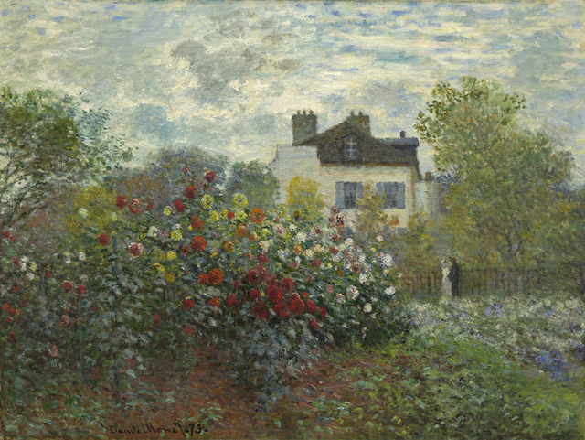 , 'The Artist's Garden in Argenteuil (A Corner of the Garden with Dahlias),' 1873, The National Gallery, London