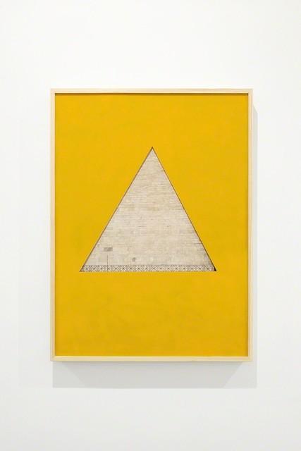 , 'Piramide/Triangolo, Roma-Bologna,' 2017, MATÈRIA